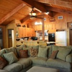 azalea creek large couch, living area