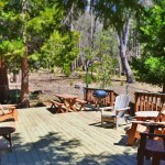fernwood deck and seating