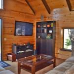 stonewood vacation rental living room, flat screen tv