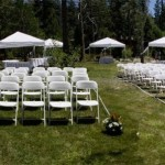 wedding seating setup